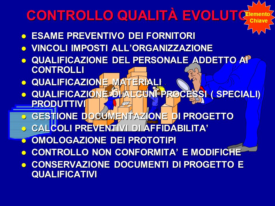 CONTROLLO QUALITÀ EVOLUTO