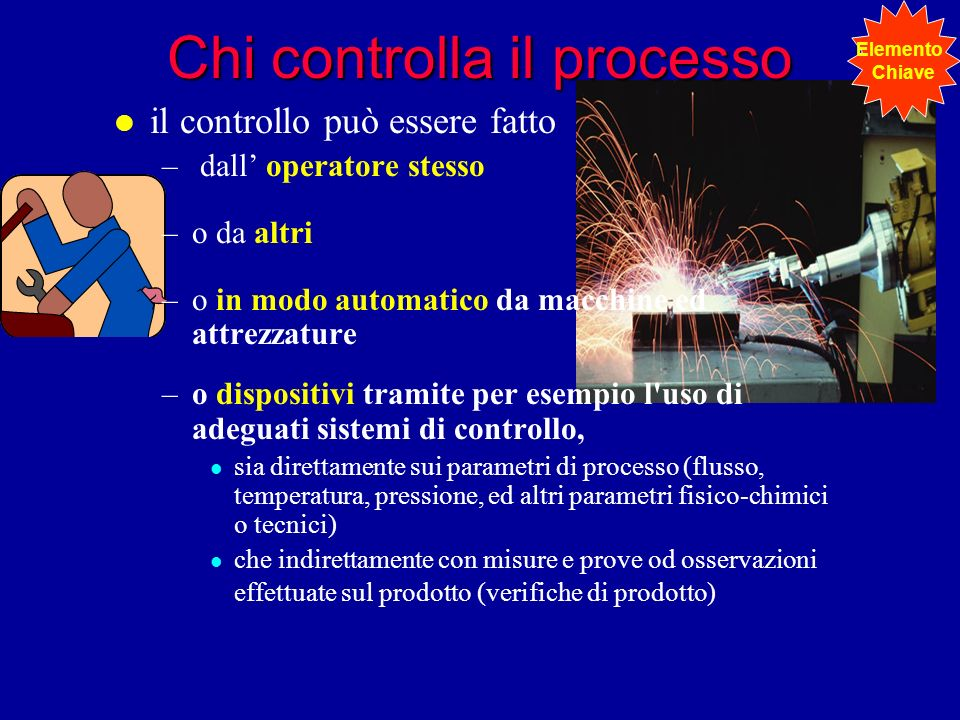 Chi controlla il processo