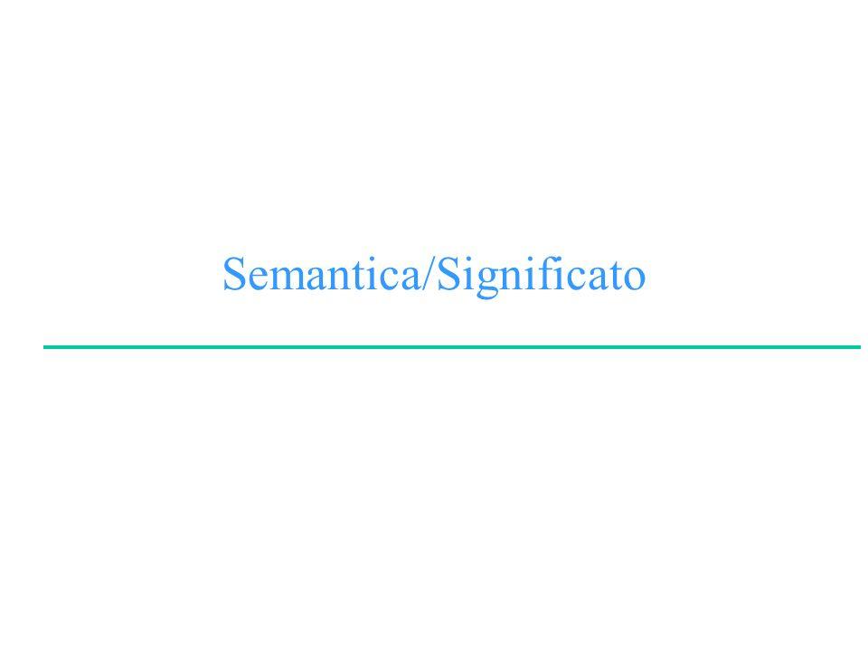 Semantica/Significato