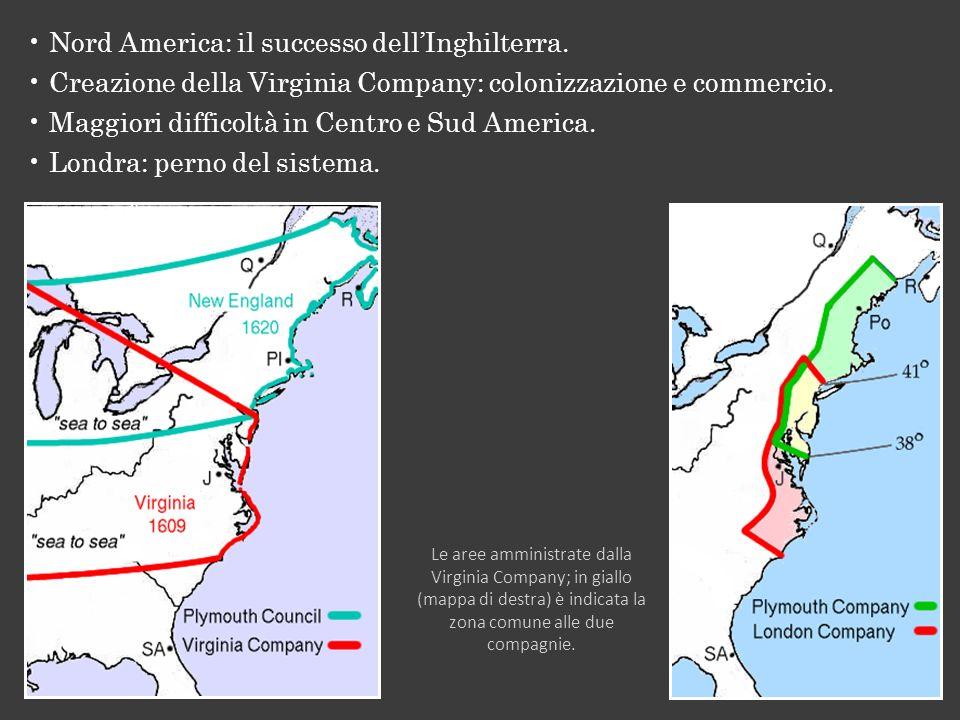 Nord America: il successo dell'Inghilterra.