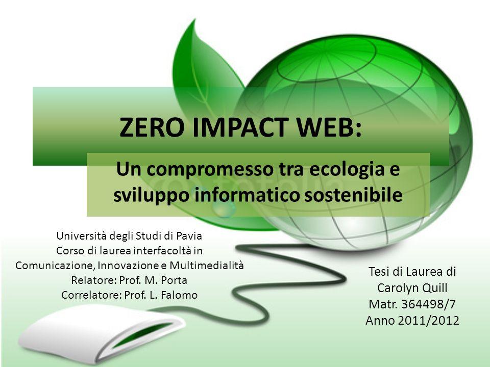 Un compromesso tra ecologia e sviluppo informatico sostenibile