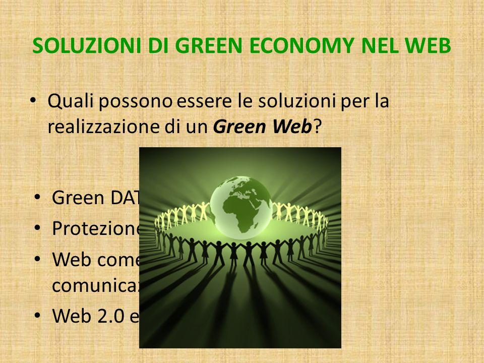 SOLUZIONI DI GREEN ECONOMY NEL WEB