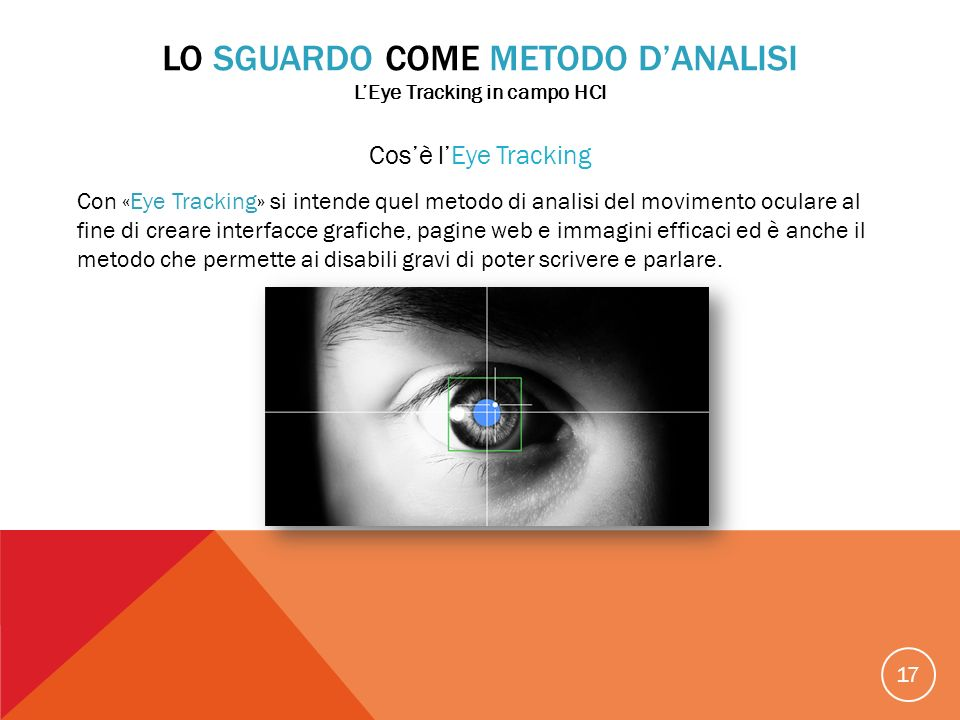 L'Eye Tracking in campo HCI