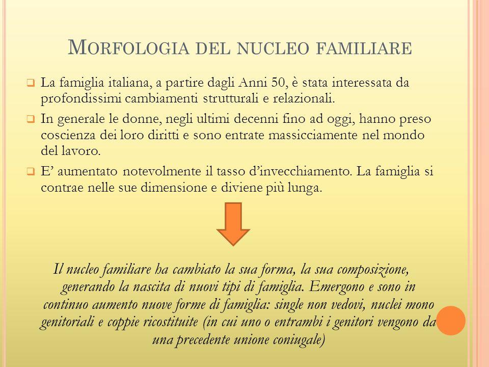 Morfologia del nucleo familiare