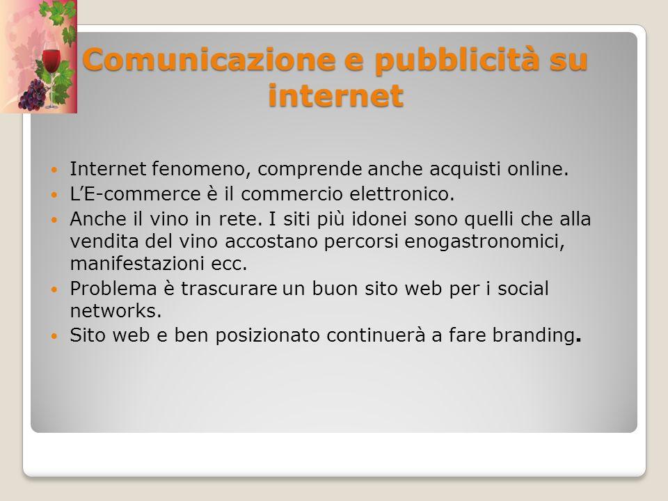 Comunicazione e pubblicità su internet