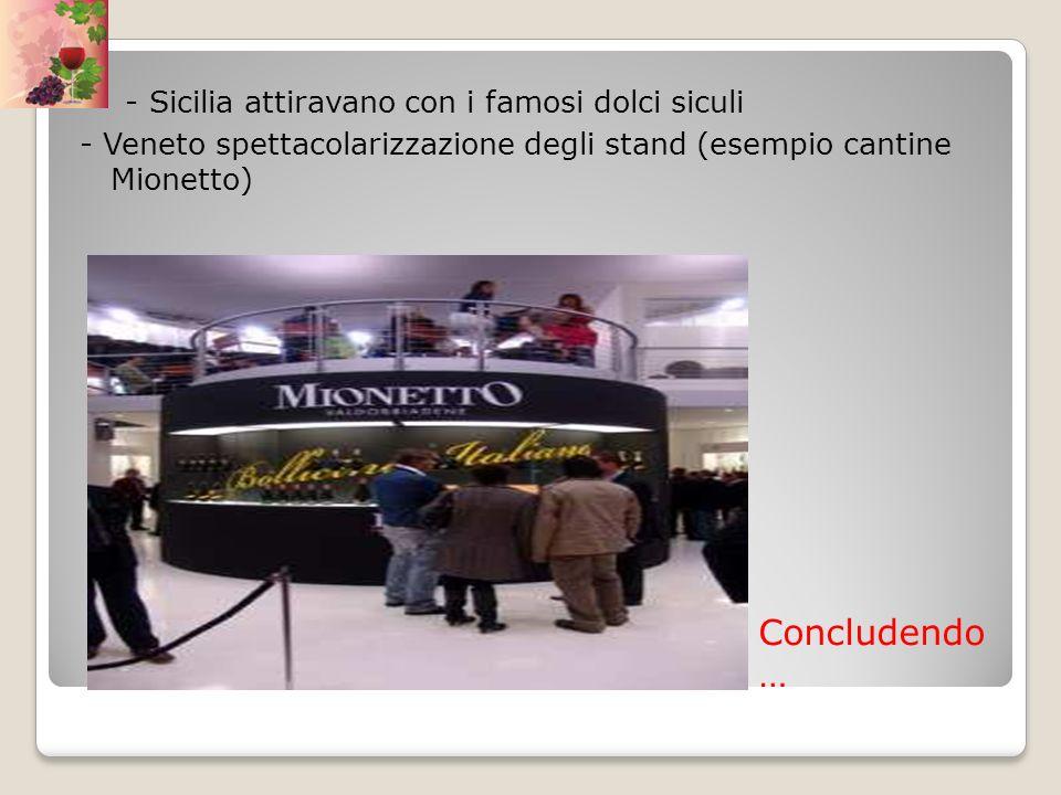 - Sicilia attiravano con i famosi dolci siculi