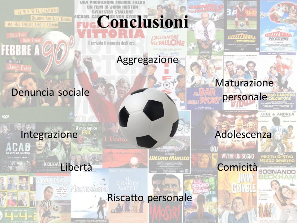 Conclusioni Aggregazione Maturazione personale Denuncia sociale