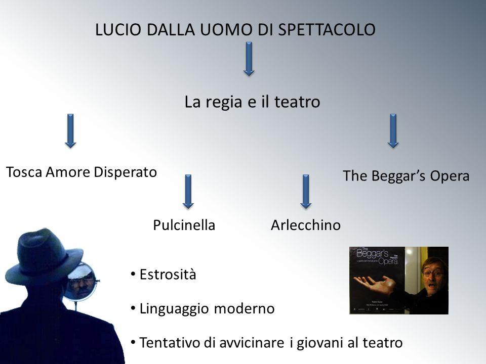 LUCIO DALLA UOMO DI SPETTACOLO