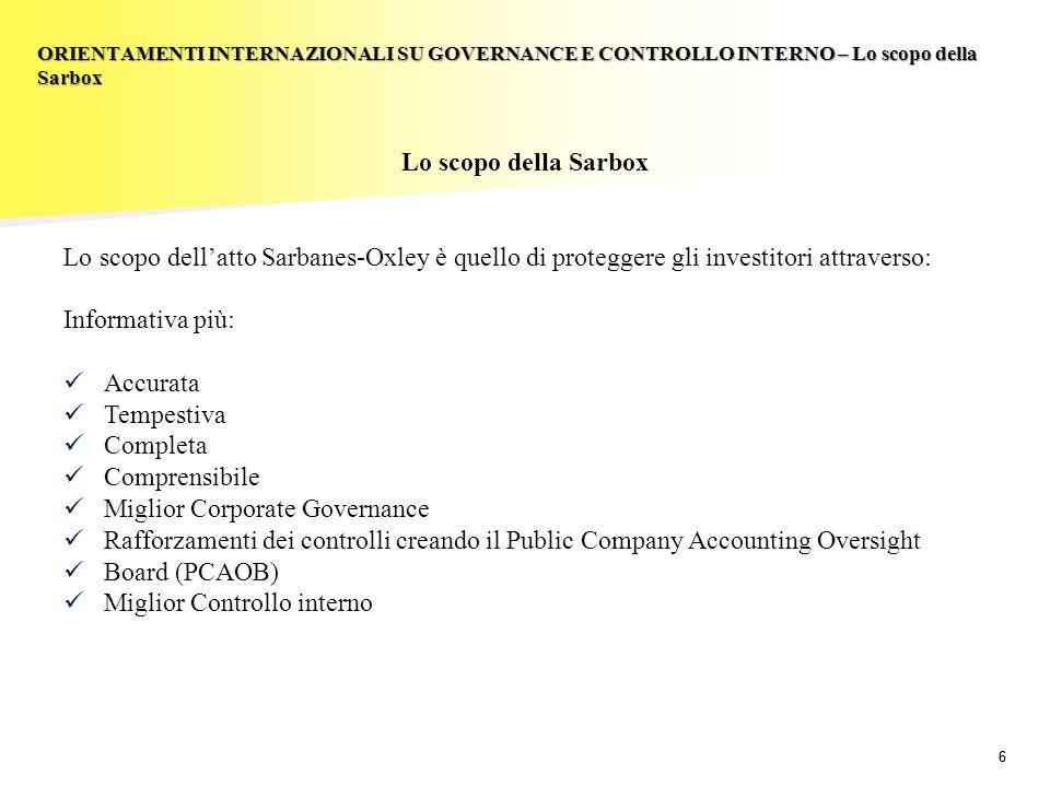 Miglior Corporate Governance