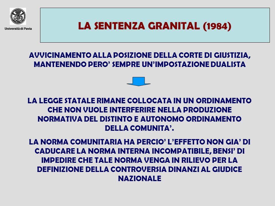 LA SENTENZA GRANITAL (1984)