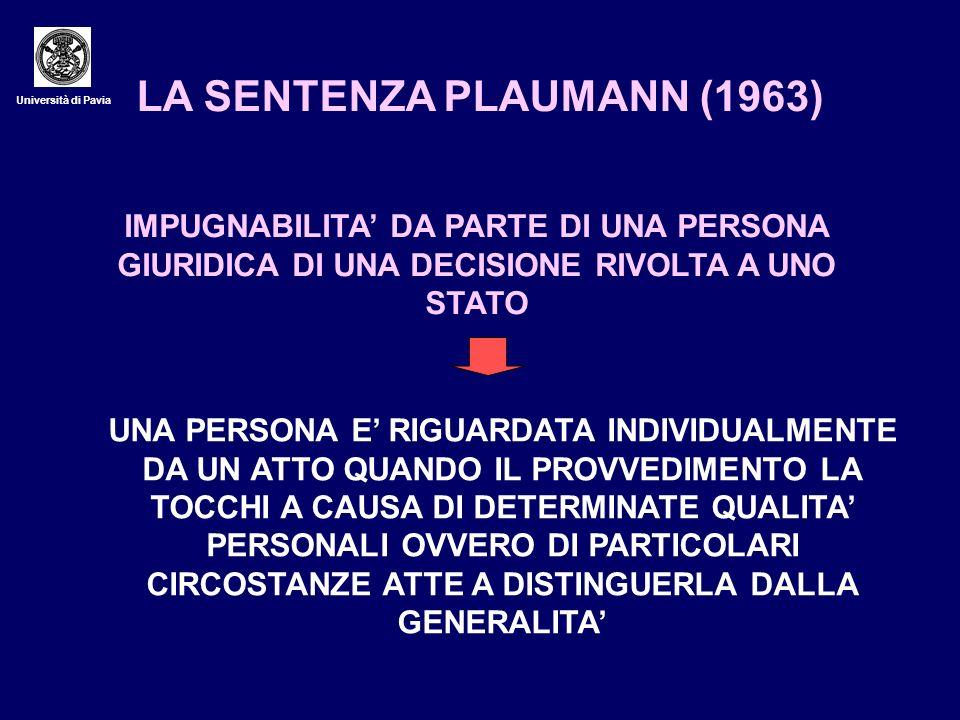 LA SENTENZA PLAUMANN (1963)