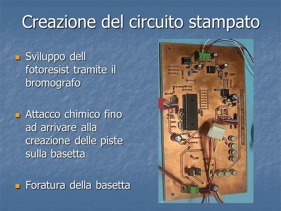 Creazione del circuito stampato
