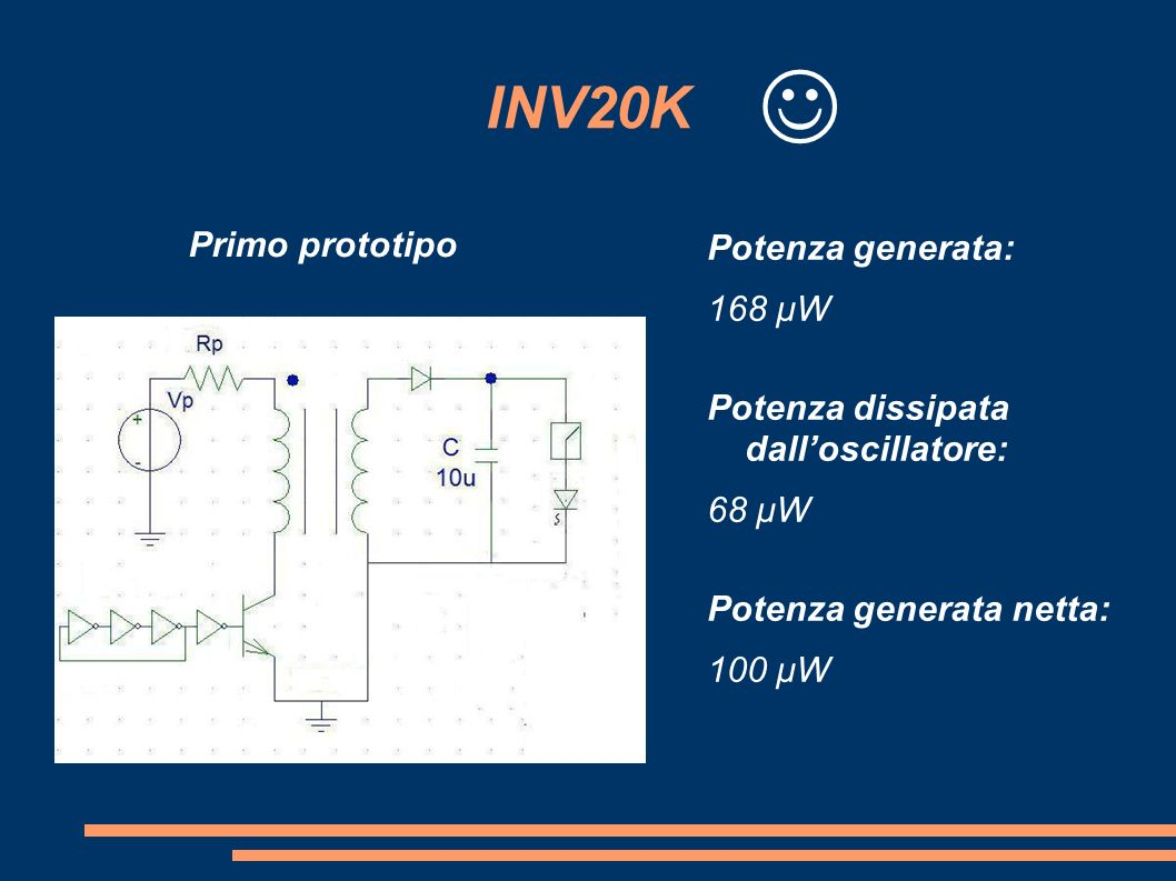 INV20K  Primo prototipo.