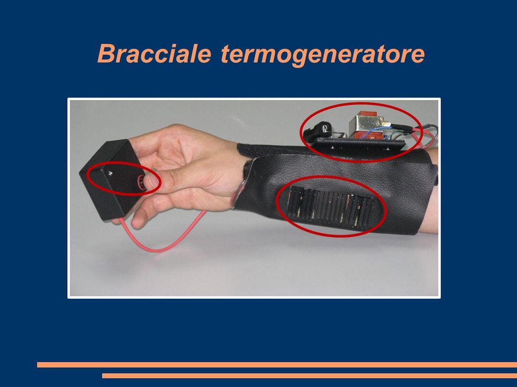 Bracciale termogeneratore