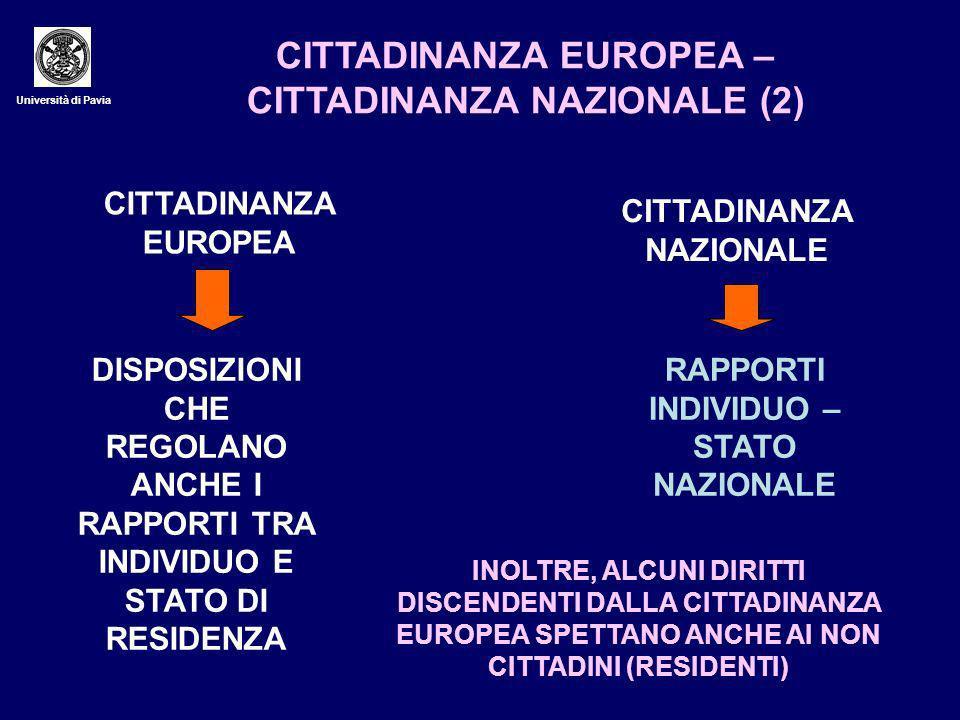 CITTADINANZA EUROPEA – CITTADINANZA NAZIONALE (2)