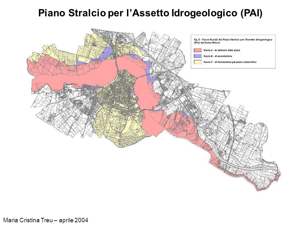 Piano Stralcio per l'Assetto Idrogeologico (PAI)
