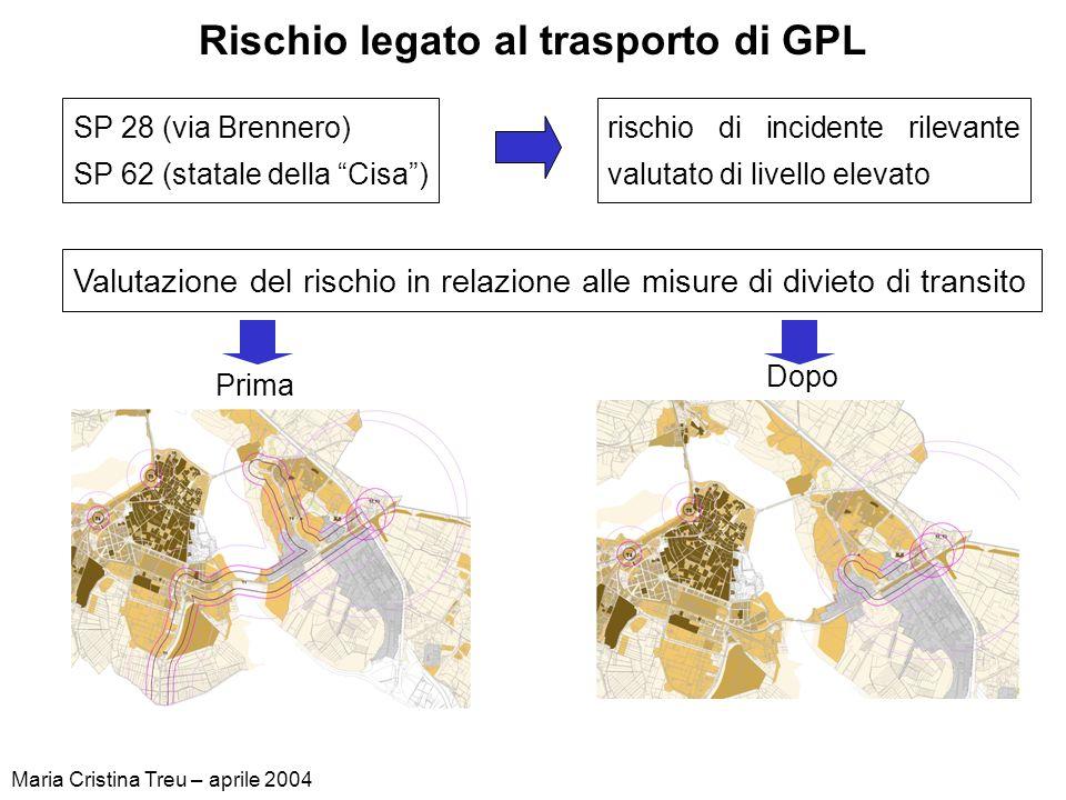 Rischio legato al trasporto di GPL