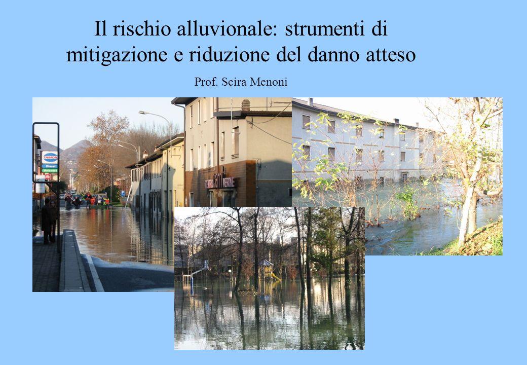 Il rischio alluvionale: strumenti di mitigazione e riduzione del danno atteso