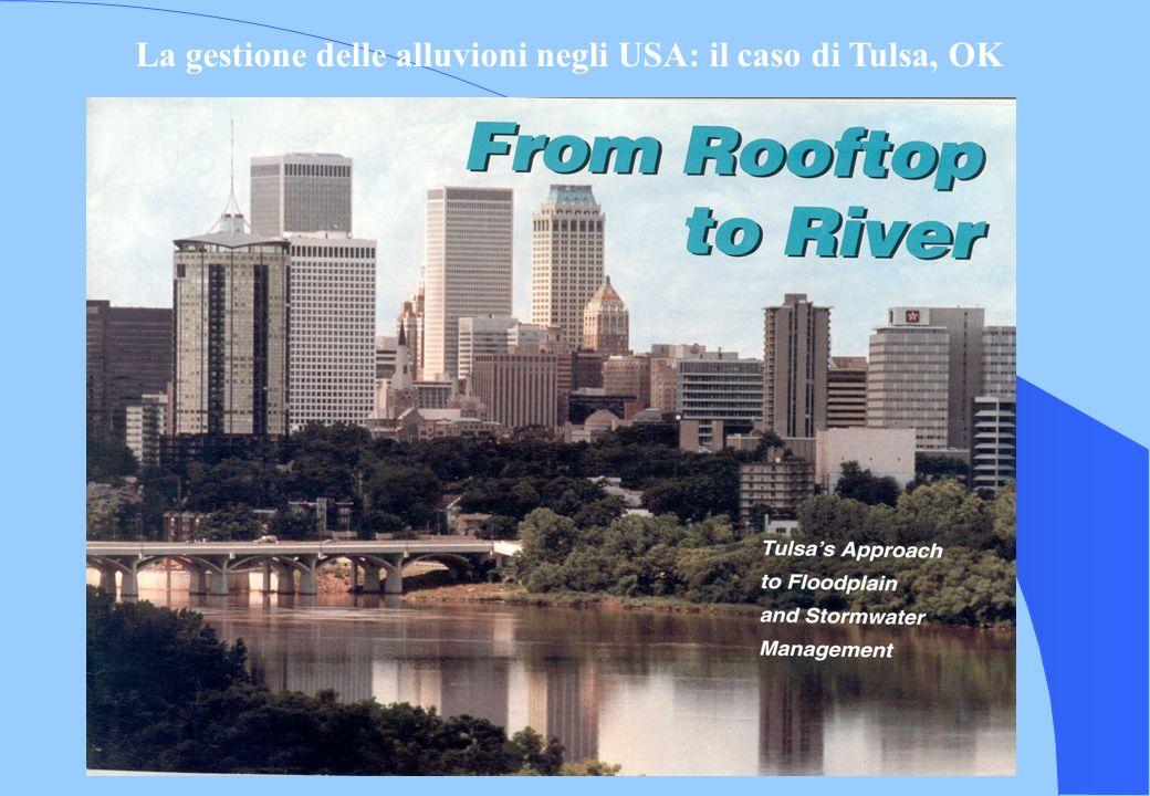 La gestione delle alluvioni negli USA: il caso di Tulsa, OK
