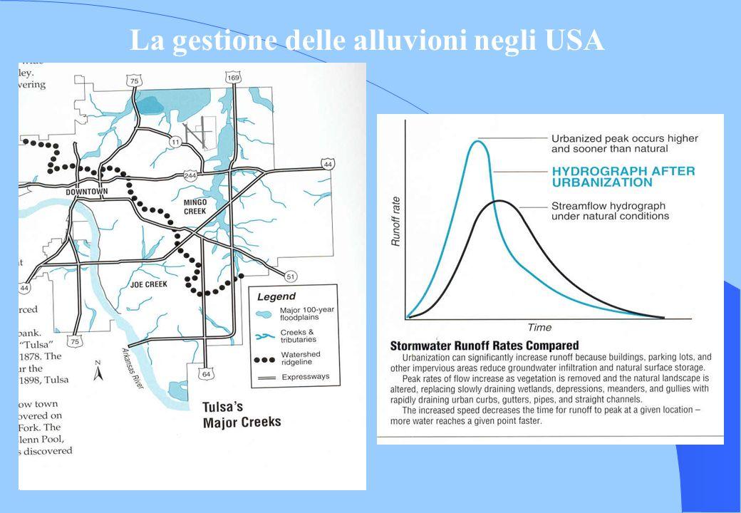 La gestione delle alluvioni negli USA