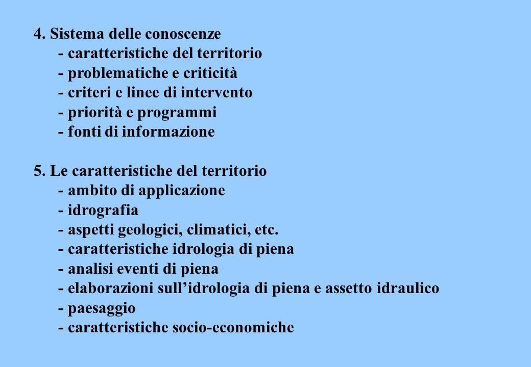4. Sistema delle conoscenze