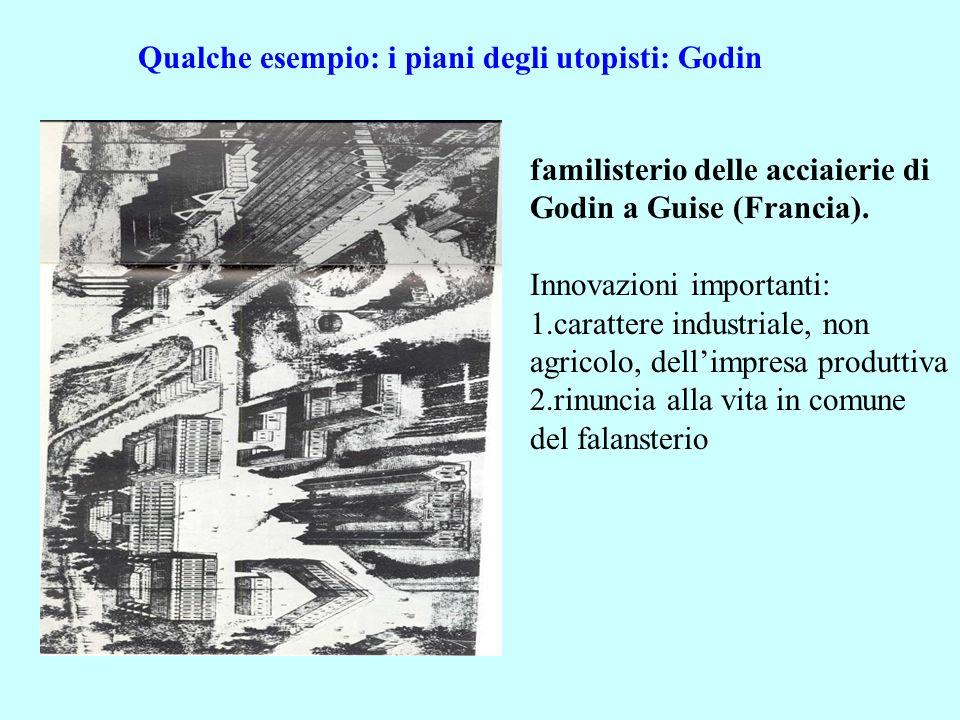 Qualche esempio: i piani degli utopisti: Godin