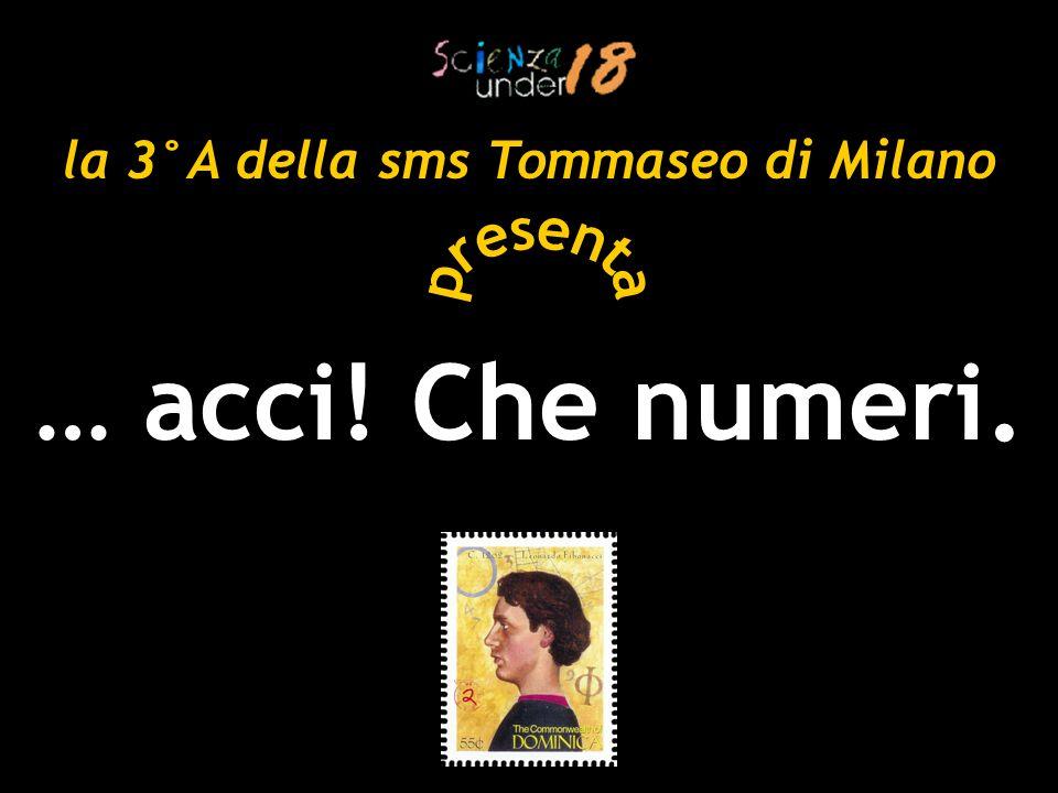 la 3°A della sms Tommaseo di Milano