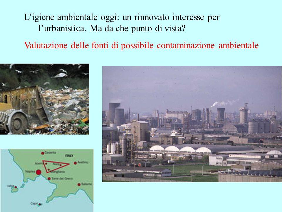 L'igiene ambientale oggi: un rinnovato interesse per l'urbanistica