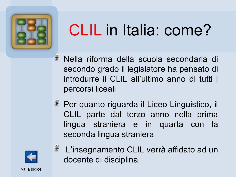 CLIL in Italia: come