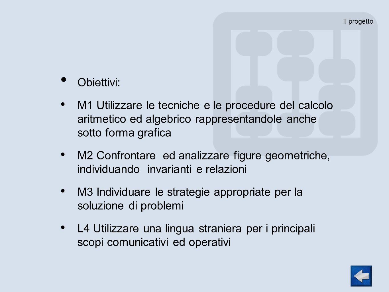 M3 Individuare le strategie appropriate per la soluzione di problemi