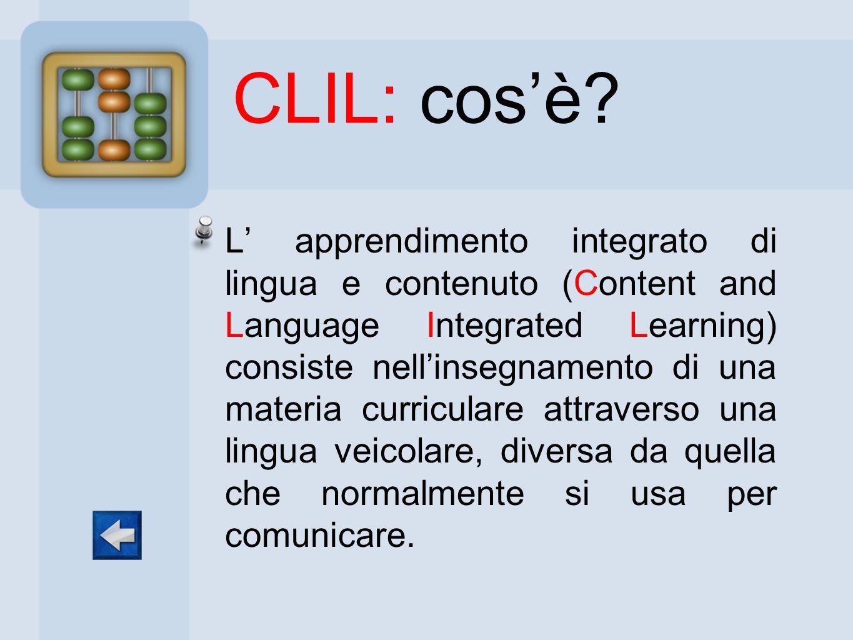 CLIL: cos'è