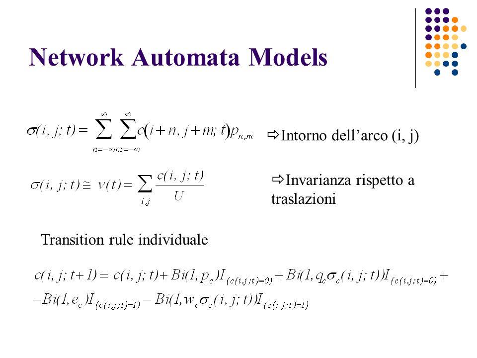 Network Automata Models