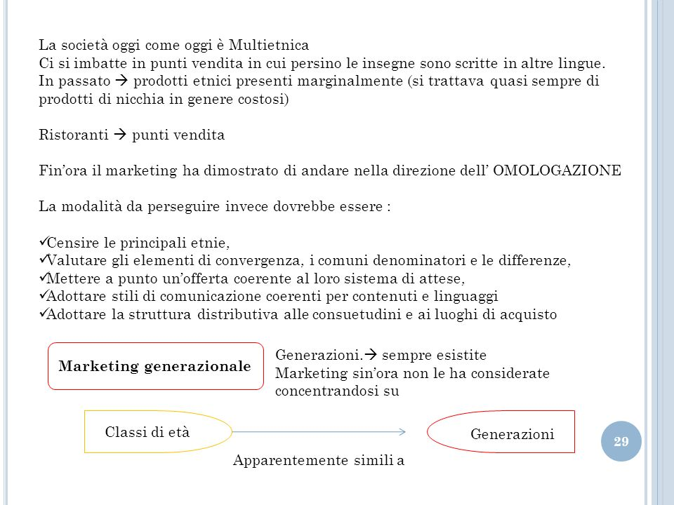 Marketing generazionale