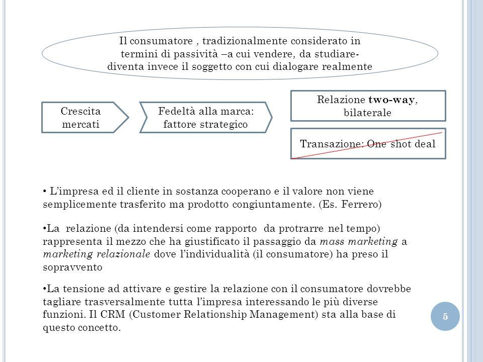Relazione two-way, bilaterale Crescita mercati