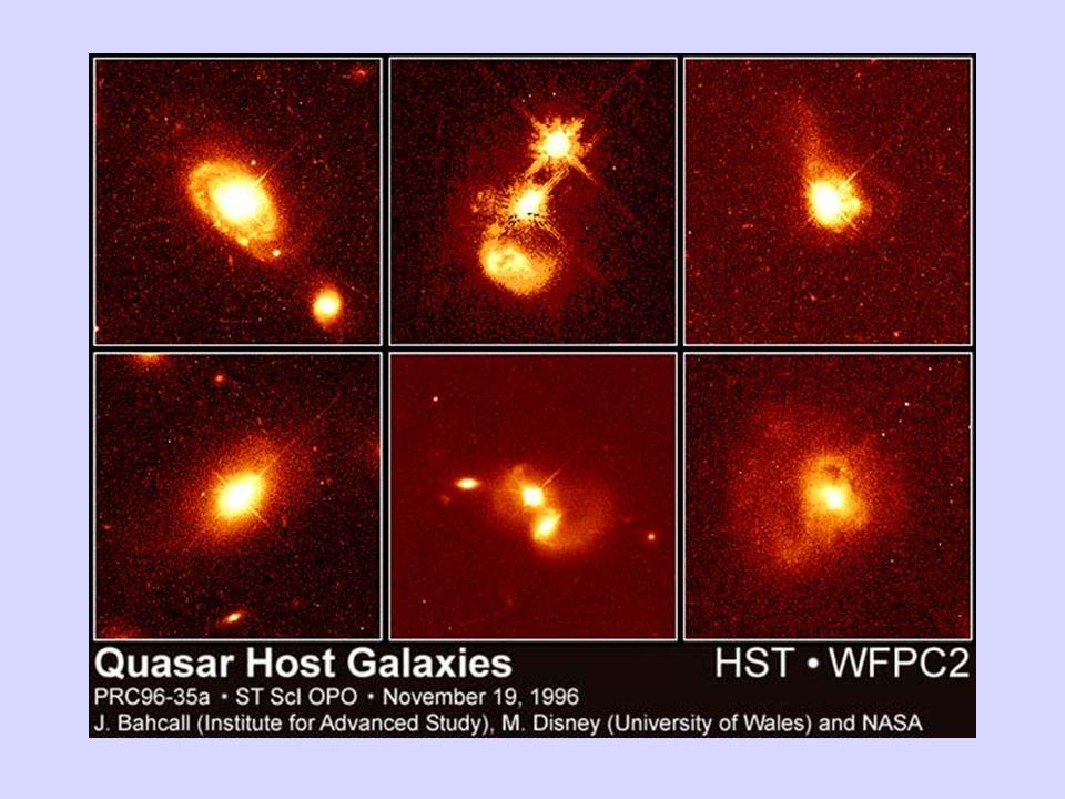 I quasar, che appartengono alla famiglie dei Nuclei Galattici Attivi, sono potentissime sorgenti di energia contenute nei nuclei di alcune galassie.