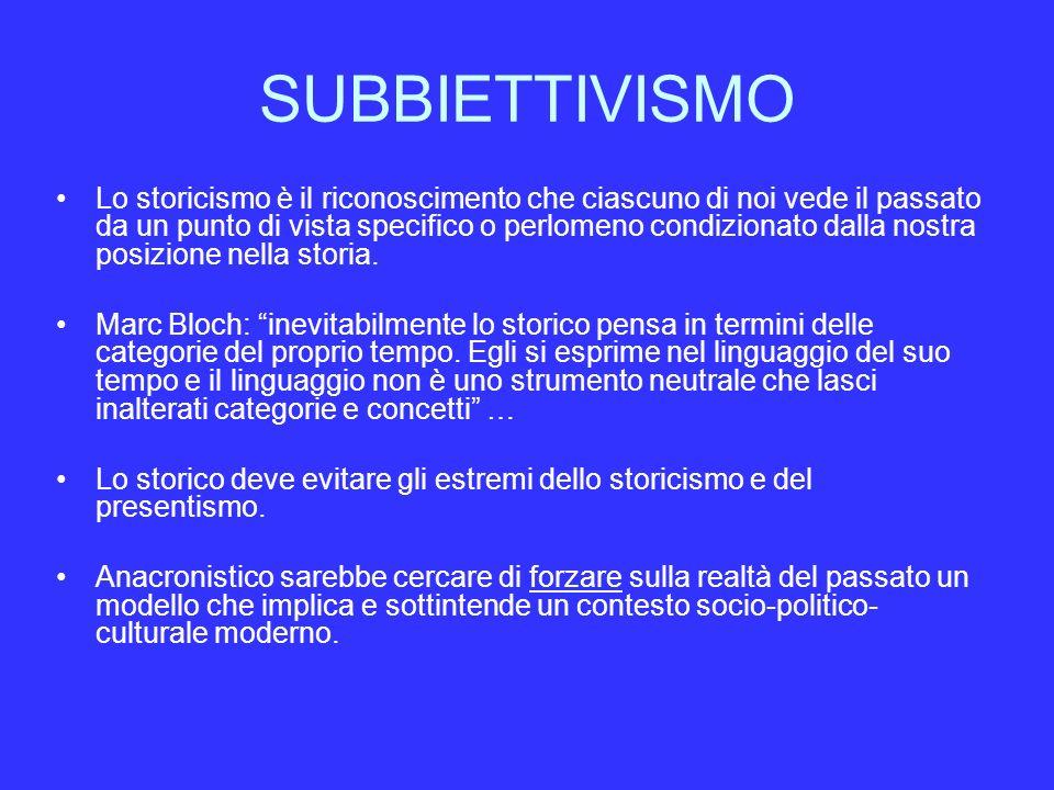 SUBBIETTIVISMO
