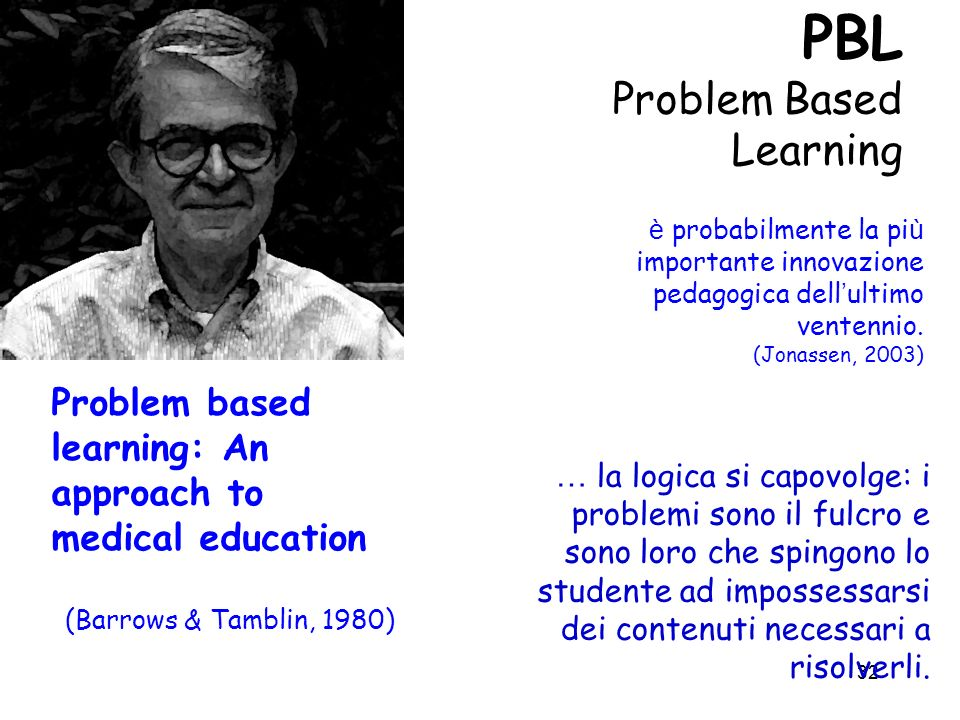 PBL Problem Based Learning