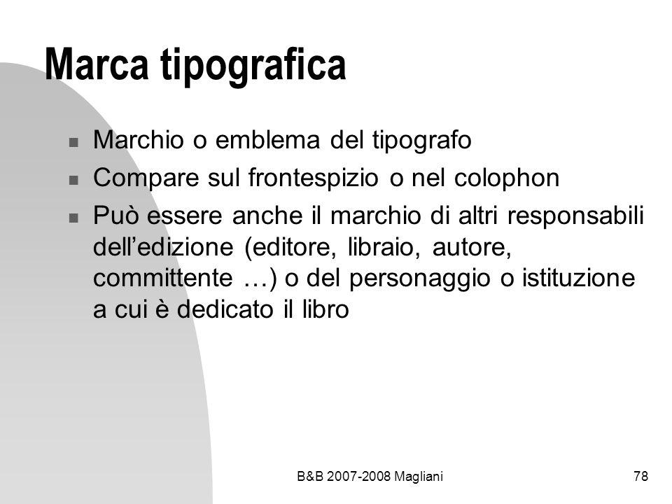 Marca tipografica Marchio o emblema del tipografo