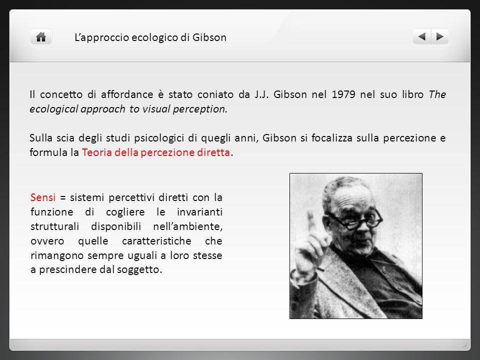 L'approccio ecologico di Gibson