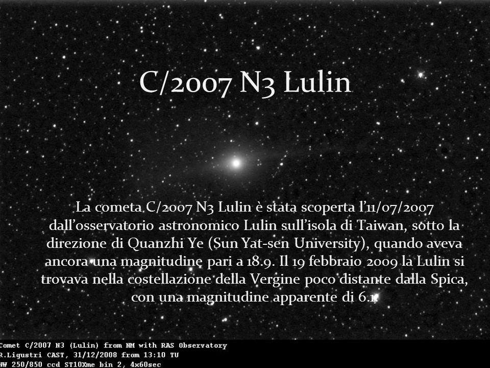 C/2007 N3 Lulin