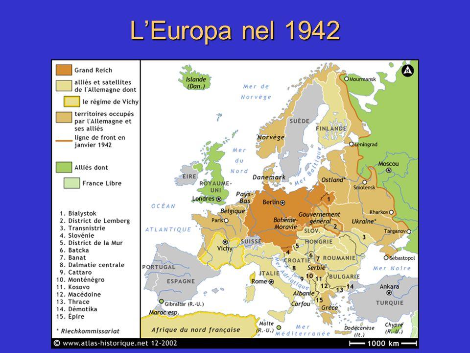 L'Europa nel 1942