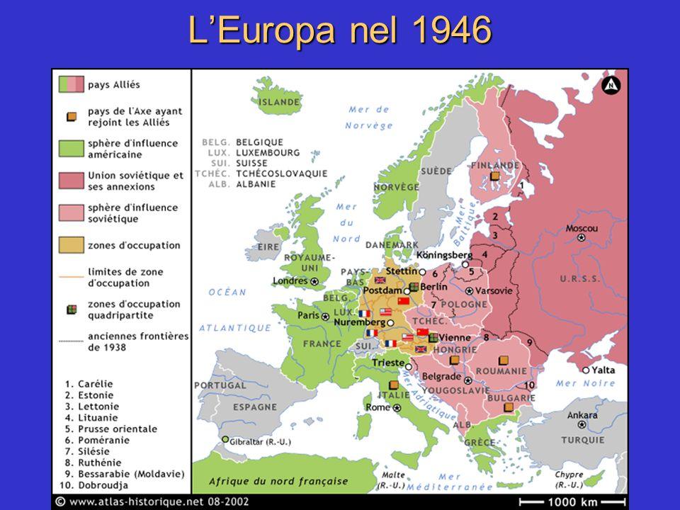 L'Europa nel 1946