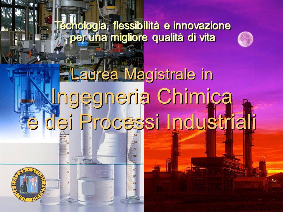 Laurea Magistrale in Ingegneria Chimica e dei Processi Industriali