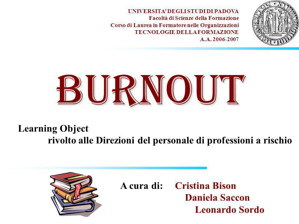 BURNOUT Learning Object