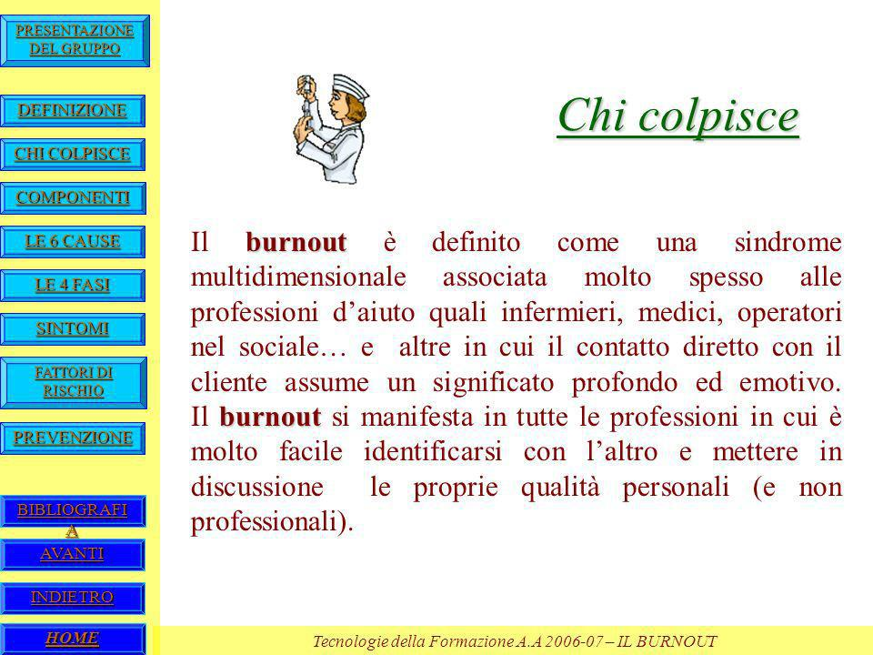 Chi colpisce