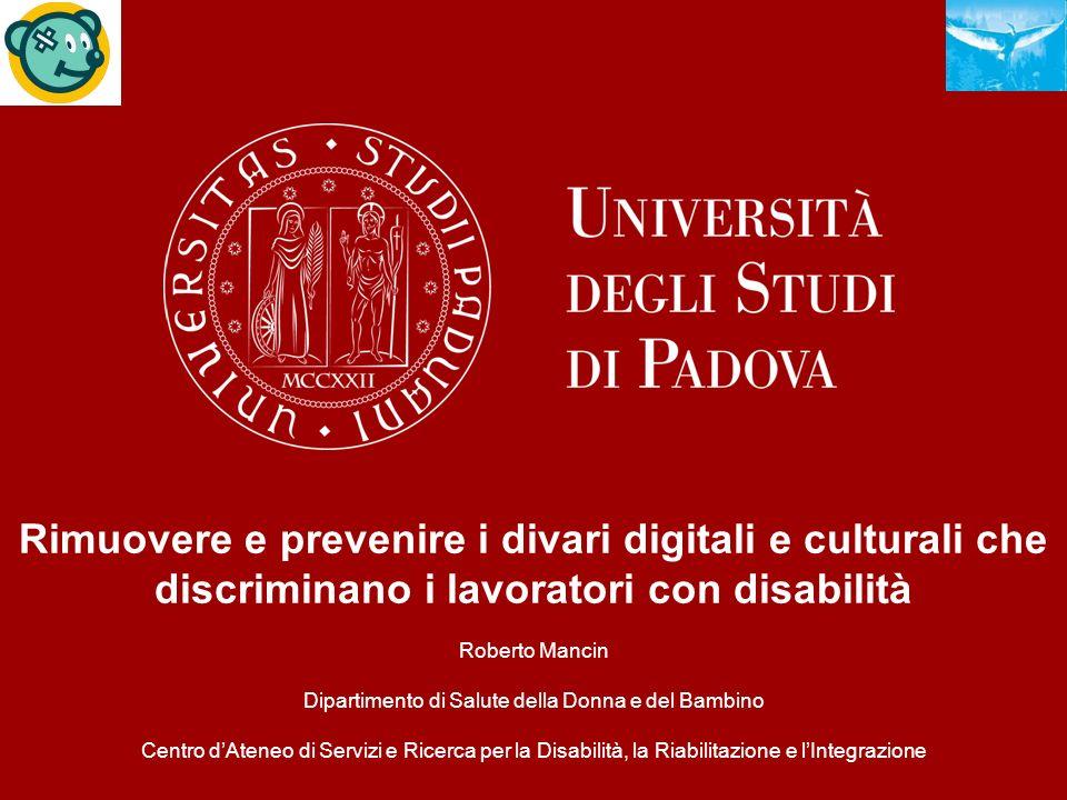 Rimuovere e prevenire i divari digitali e culturali che
