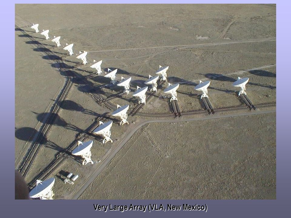 Very Large Array (VLA, New Mexico)