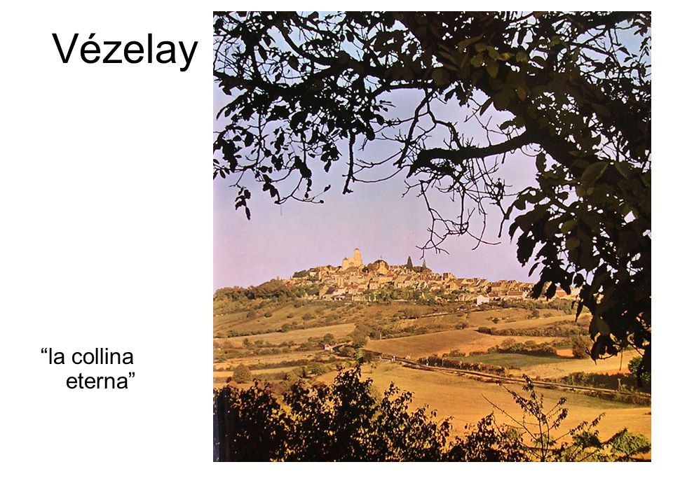Vézelay la collina eterna