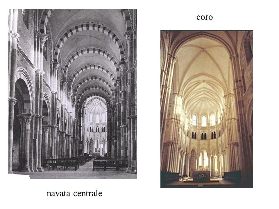 coro navata centrale