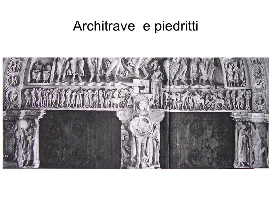 Architrave e piedritti